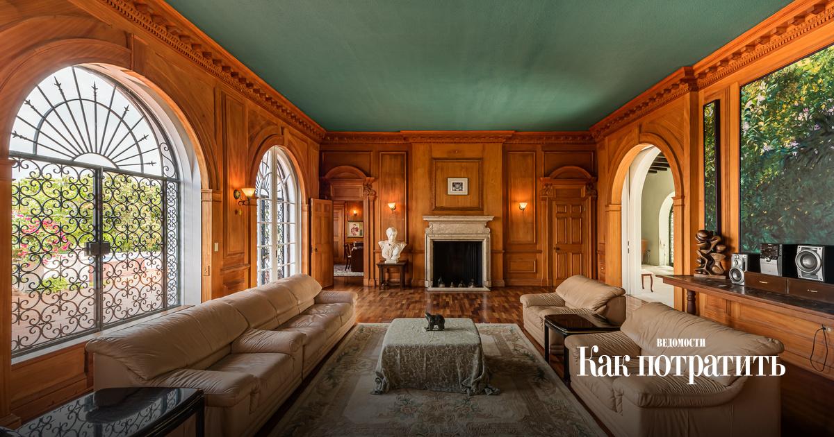 Кто купит особняк самого скандального монарха 20 века?
