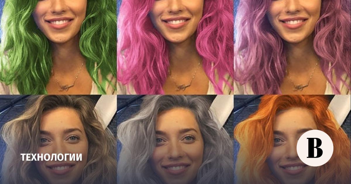 Приложение для перекраски волос на фотографиях взорвало рунет