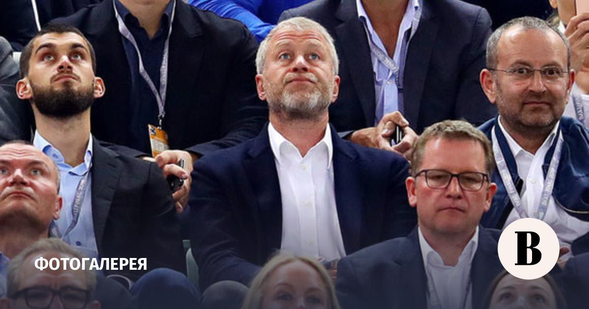 Эмоции Абрамовича и его сына на финале Лиги Европы. Фотографии