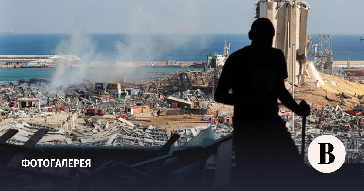Последствия взрыва в Бейруте. Фотографии
