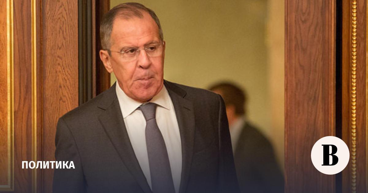 Поздравления министра иностранных дел лаврова