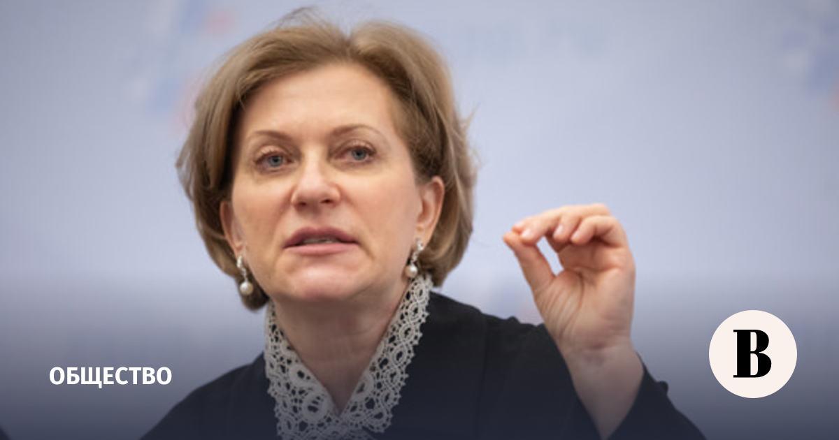 Попова назвала долю не верящих в существование коронавируса граждан