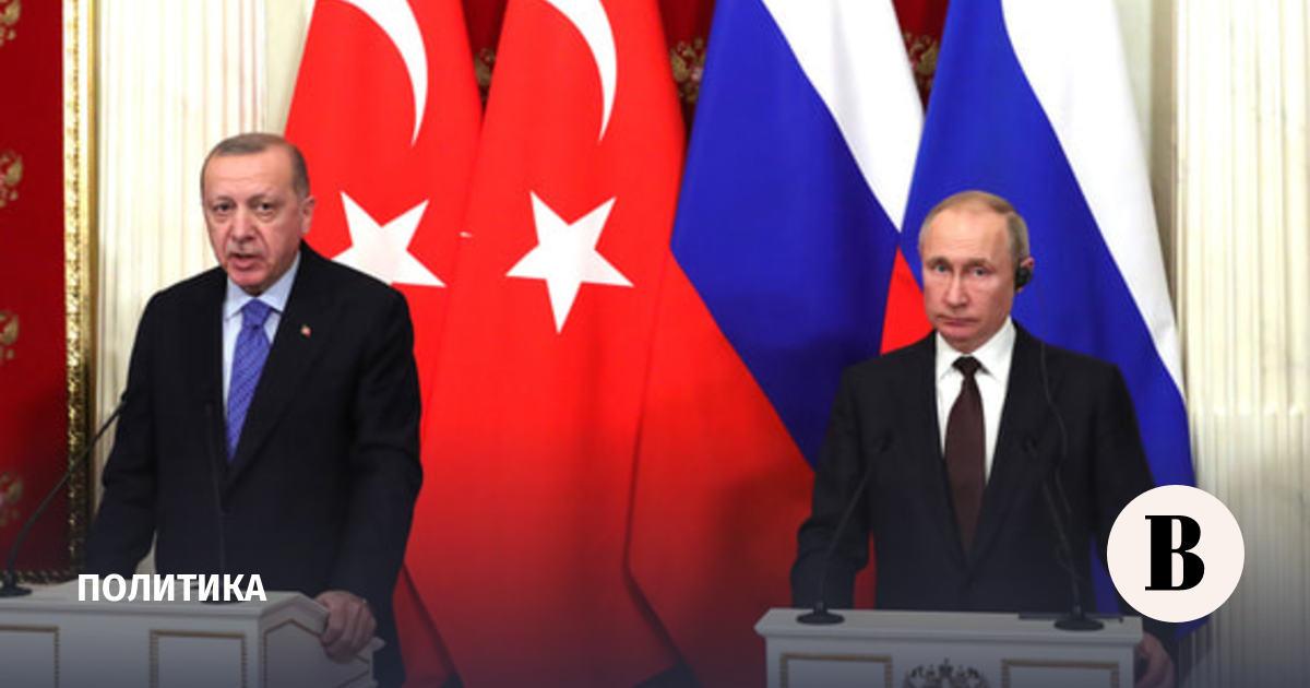 Путин обсудил с Эрдоганом конфликт в Нагорном Карабахе