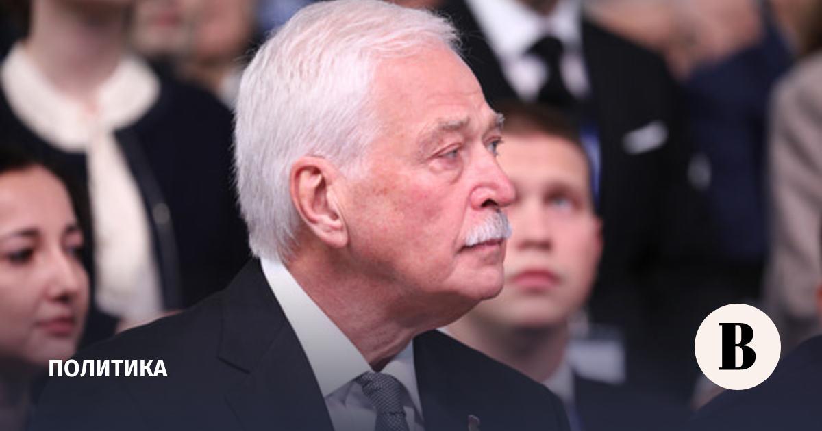 Путин наградил Грызлова орденом «За заслуги перед Отечеством» I степени