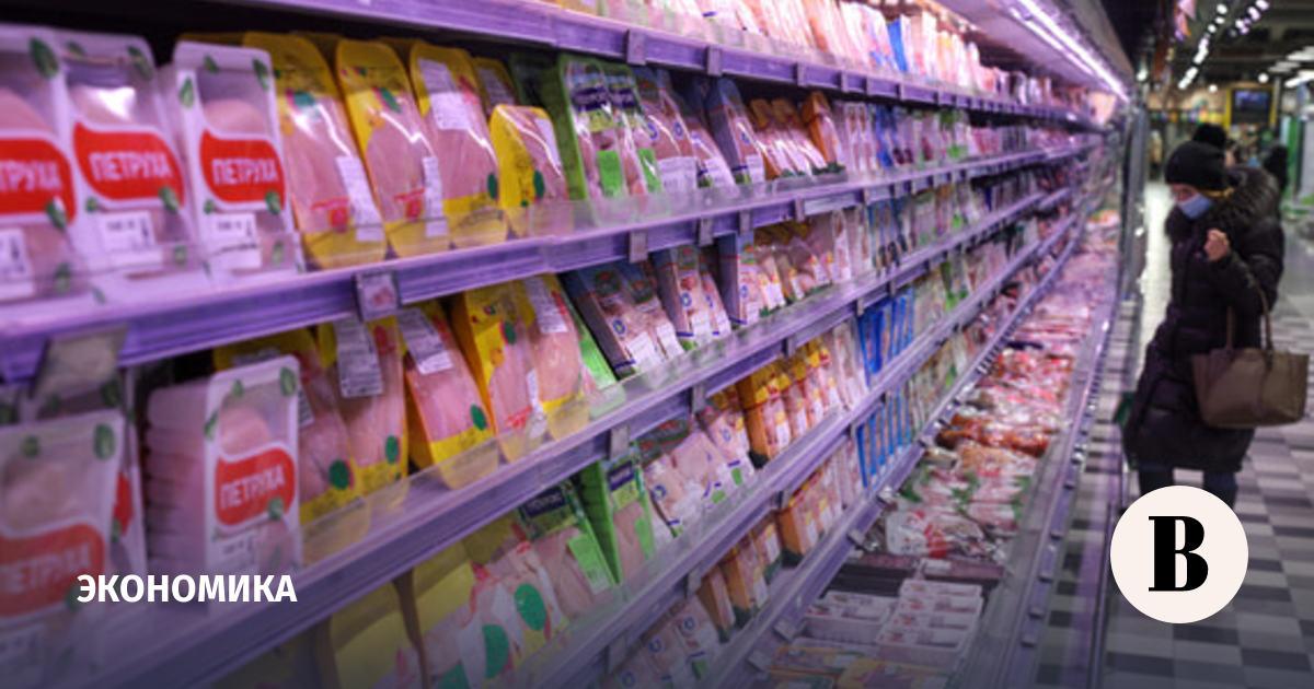 «Коммерсантъ» узнал о соглашении производителей и сетей о заморозке цен на курицу