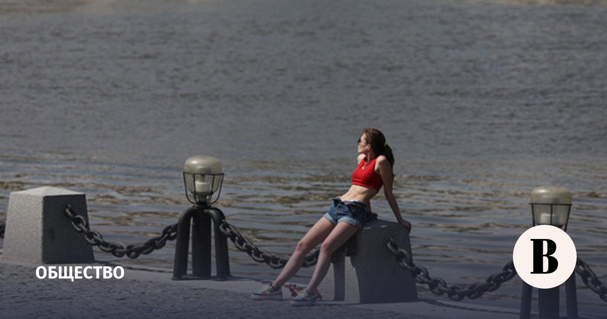 В Москве объявили «оранжевый» уровень погодной опасности из-за жары