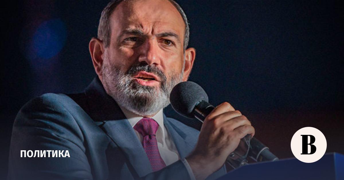 Пашиняна назначили премьером Армении